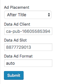 Add Adsense Numbers Into Boxes