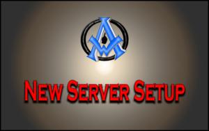 New Server Setup