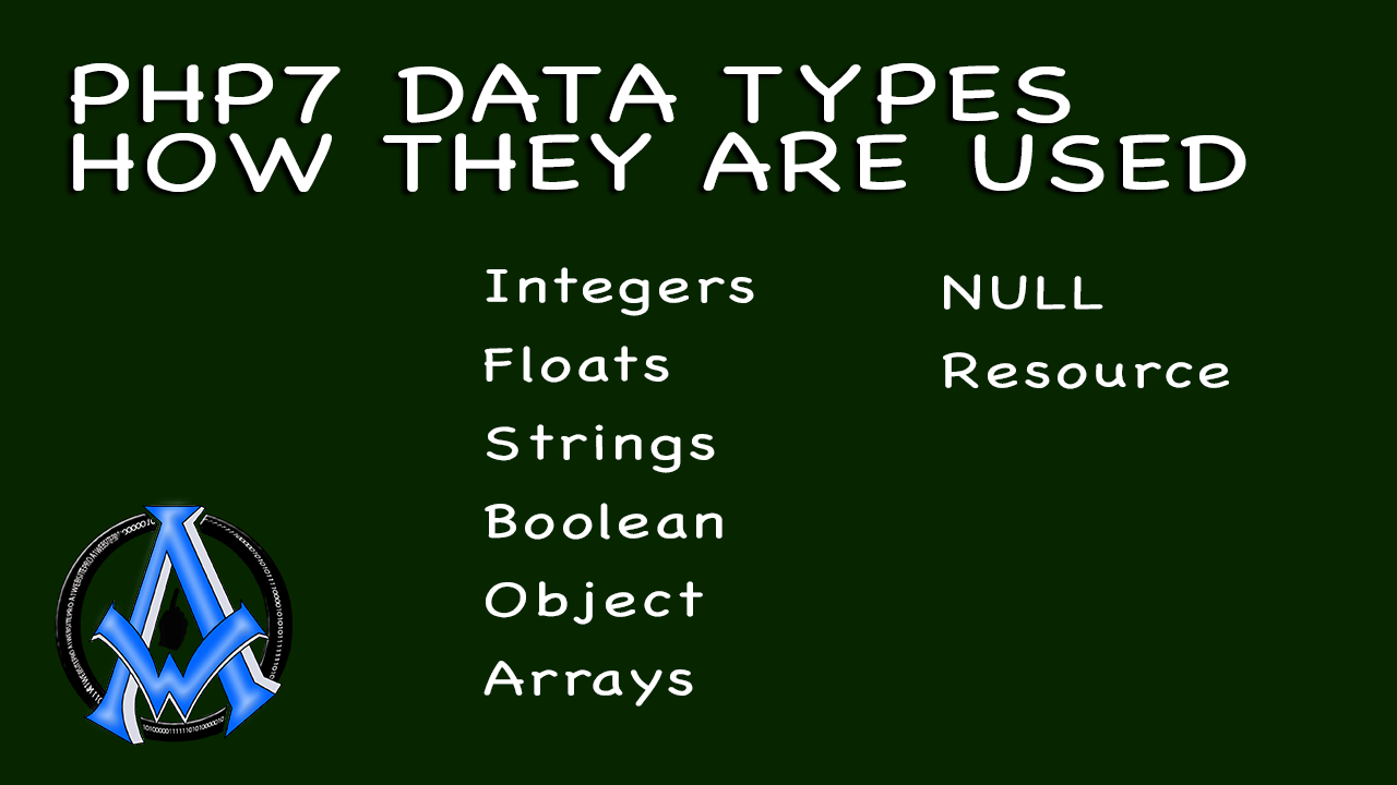 PHP7 DATA TYPES HOW THEY ARE USED