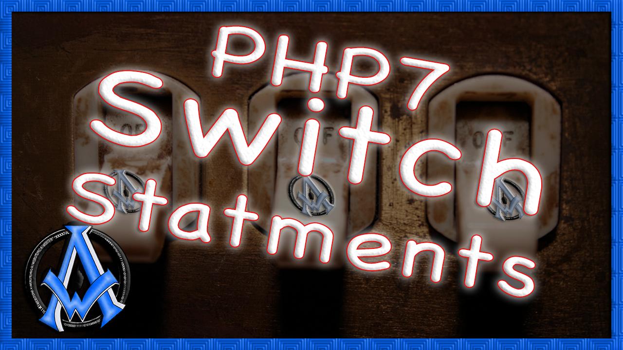 Php 7 Switch Statement Case Break
