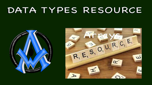 PHP RESOURCE