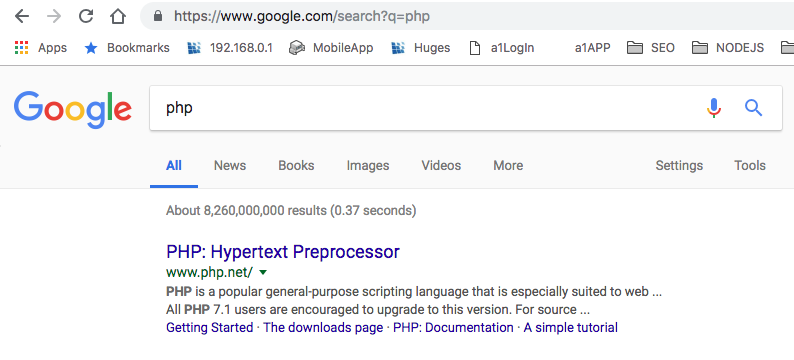 query string parameters in php