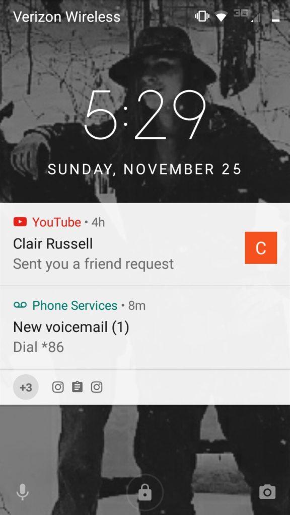 Mobile connection friend request