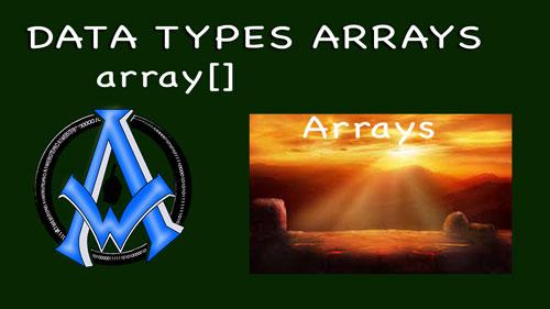 php7 arrays