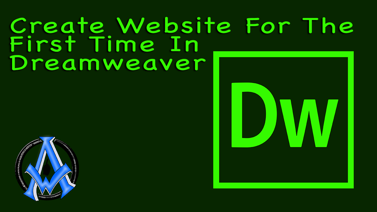 create-website-for-first-time-in-dreamweaver