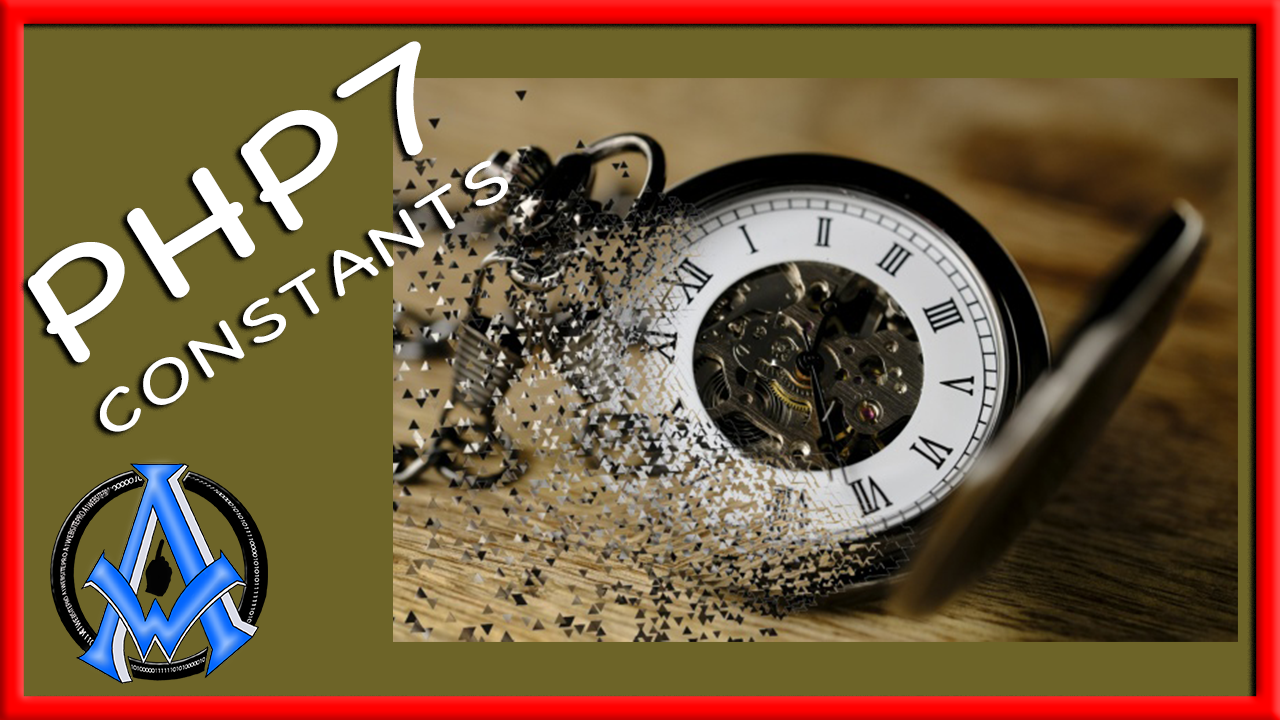 PHP 7 Constants Notice: Constant already defined LESSON 13