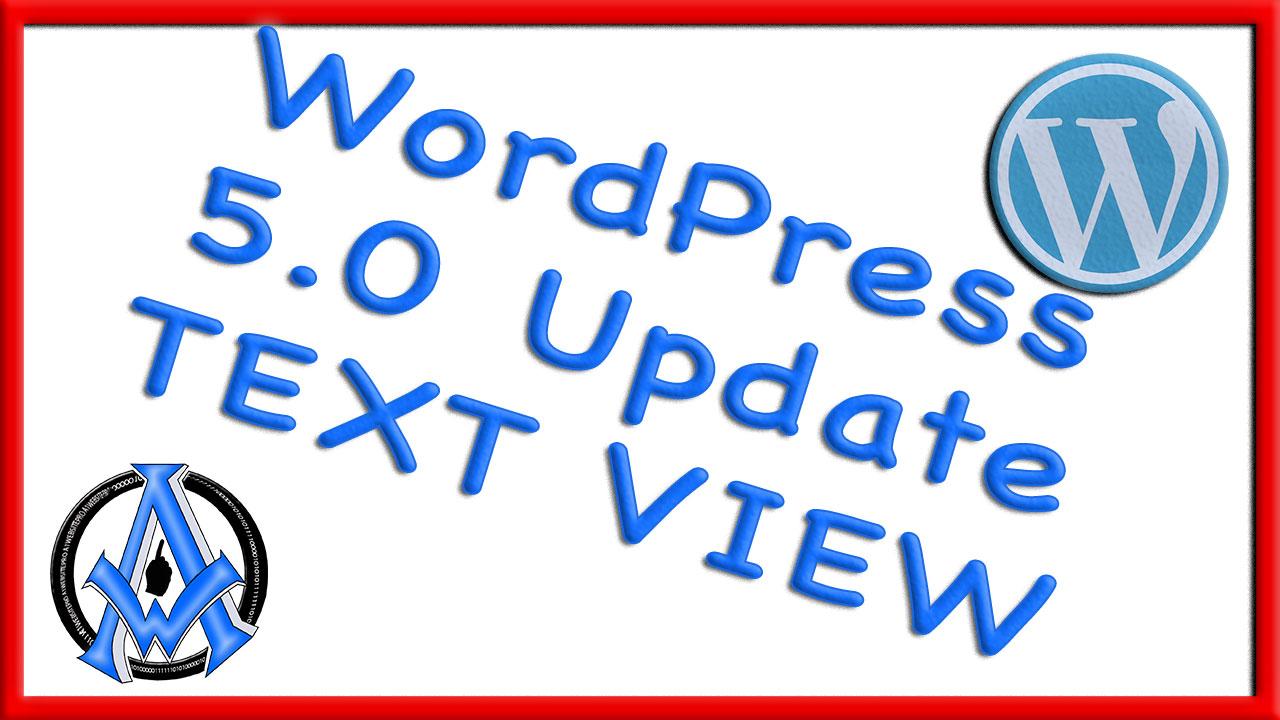WORDPRESS-5.0 -UPDATE