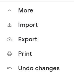 export contacts google account