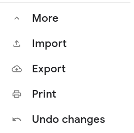 export contacts google account