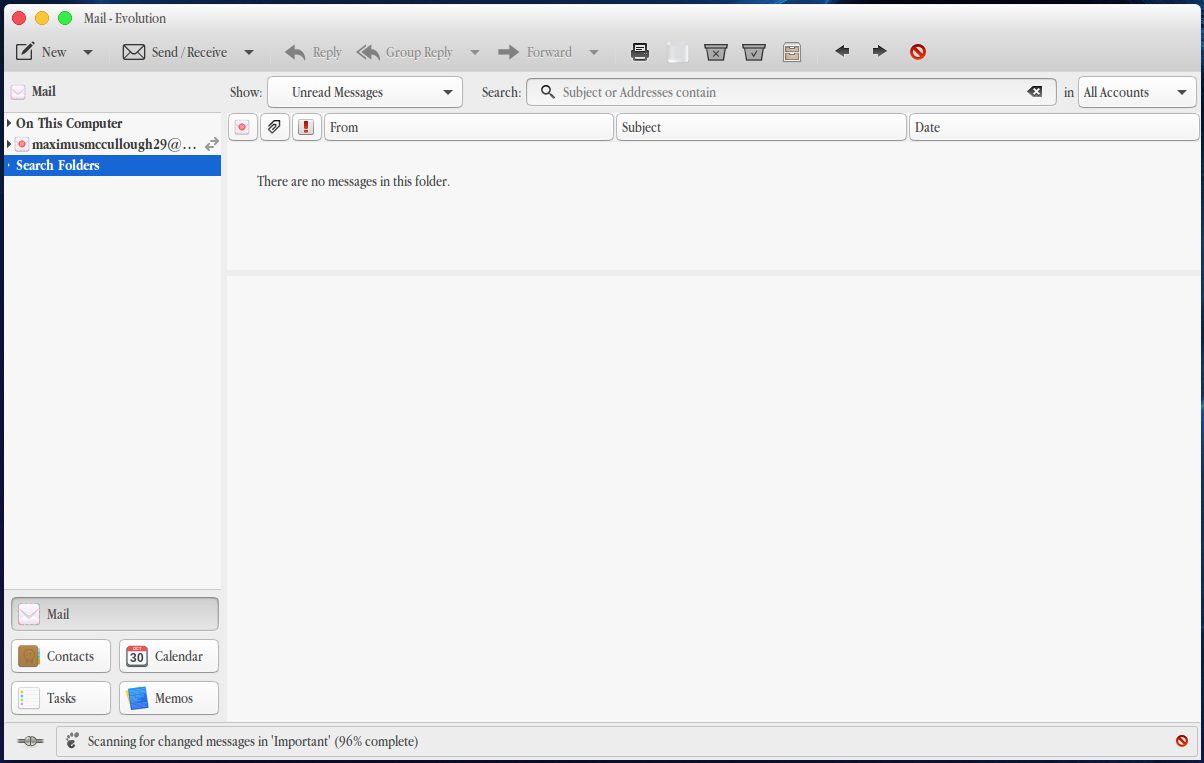 evolution-email-client