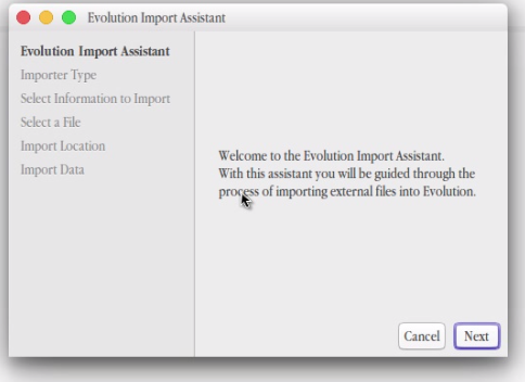 Evolution Import Assistant