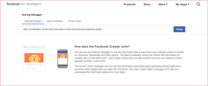 Facebook Pulling Wrong Image