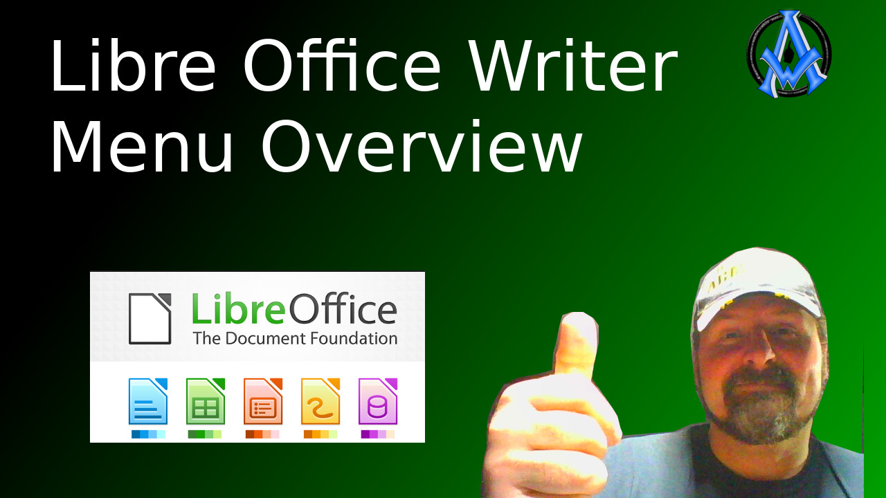 libre office writer menu overview and layout beginners guide