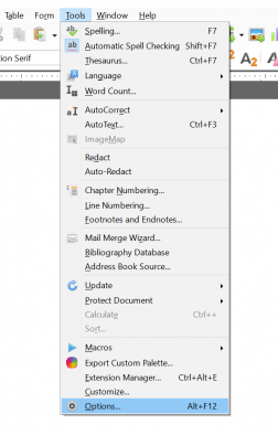 Libre office update